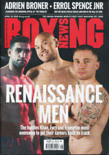 April Boxing News Magazines in English