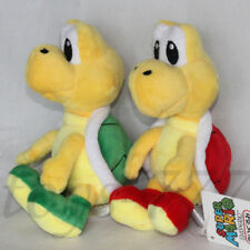 "2X Super Mario Bros. Plush Koopa Troopa Toys 6.5"" Stuffed Animal Red And Green"