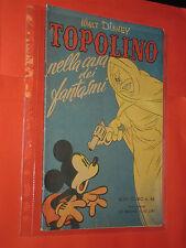 ALBO D'ORO-TOPOLINO n° 46-a-DEL 1951-casa dei fantasmi- LIRE 40-mondadori-disney