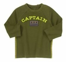 18-24 Months, Gymboree FLIGHT SCHOOL, Captain Long Sleeve Tee, NWT