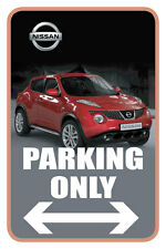 "Nissan 12""x18"" Full Color Metal Auto Parking Sign"