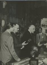 Milan, MM. Letourneau, Gasparotto, Merzagora Vintage silver print Tirage arg
