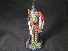 """Danbury Mint """"Quest for the Crystal"""" Guardian Of The Crystal Wizard"""