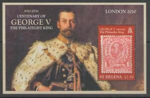ST.HELENA SGMS1131 2010 ACCESSION OF KING GEORGE V   MNH