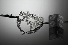 original venezianische Augen Maske mit Swarovski ELEMENTS Maskenball Karneval