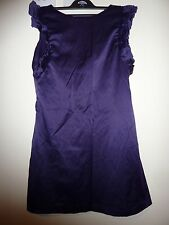 Rare purple dress. Ruffle sleeves. Short length. Size 10