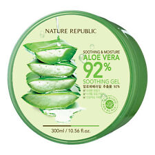 Nature Republic Soothing & Moisturizing 92% Natural ALOE VERA Gel 300ml