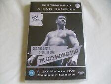 WWE EDDIE GUERRERO DVD SAMPLER NEW & SEALED (ROH, TNA)