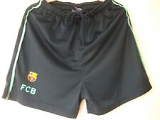 Junior Navy and Green FCB Shorts Age 12