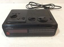 Vintage Sony Dream Machine ICF-C2W AM FM Digital Clock Radio 1980s RARE Black