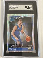 2019-20 Luka Doncic Optic Shock Prizm RC 177  SGC 9.5 Mint + Rated Rookie