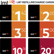 Lmt Cell Phone Cards - Prepaid Refill / Recharge Card - Worldwide Calls Gsm Sim