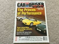 2002 Subaru Impreza WRX, Oldsmobile Bravada, BMW Z8 Car Driver  Magazine