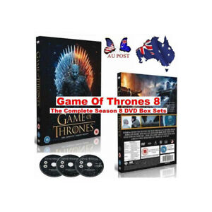 2021 Game Of Thrones DVD Box Sets The Complete Season Brand New Sealed
