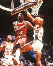 1984 MICHAEL JORDAN Chicago Bulls BASKETBALL ACTION Photo 8x10 ROOKIE PICTURE