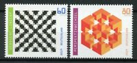 Germany Science Stamps 2019 MNH Optical Illusion Art Design 2v Set