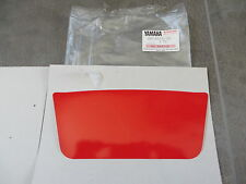 Yamaha Aufkleber Rot TY250 R TY250R Lampenmaske Frontverkleidung Tafel Graphic