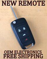 NEW GM GMC CHEVY BUICK SWITCHBLADE FLIP KEYLESS REMOTE FOB W/ OEM ELECTRONICS