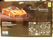 TAMIYA ENZO FERRARI 12047 1/12 SCALE V12 ENGINE PHOTO-ETCHED PARTS DIE-CAST ARMS