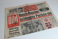 BILDzeitung 17.01.1970 Januar Umschlagsseiten / 4 Seiten      Hasch Raucher