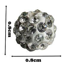 Disco boule de cristal Shamballa Bracelet en pate perles perle 10 x nouvelles balles féminin