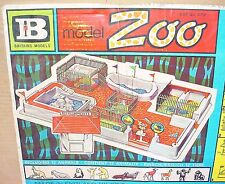 Britains Ltd 1:32 MODEL ZOO + FENCING + TICKETBOX + ANIMALS NMIB`74 TOP RARE!