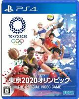 Sega TOKYO 2020 Olympic PlayStation4 The Official Video Game Sony PS4 Sports
