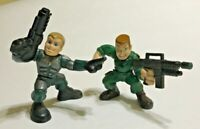 GI Joe Combat Heroes Rise of Cobra Conrad Duke Houser 2 Variants Loose