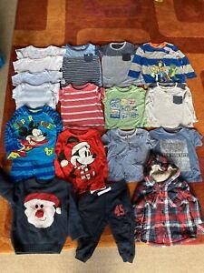 Job Lot Baby Boy Clothes Age 12-18m, Disney Next M&S Bundle