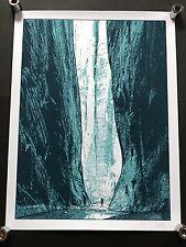 Dan McCarthy-los pasos-Rareza Firmado Serigrafía Walker Cueva de arte