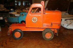Doepke Unit Mobile Crane Model Toys 1950's AS-IS AS SHOWN