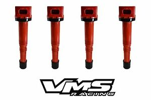 VMS RACING HIGH OUTPUT ENERGY RED IGNITION COIL FITS HONDA ACCORD CIVIC Si UF602