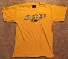 Aeropostale Size M Yellow Short Sleeve T-Shirt Guys EUC 100% Cotton