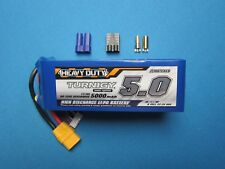 TURNIGY 5000mAh 6S 60C 120C LIPO BATTERY 22.2V HEAVY DUTY XT90 TRAXXAS EC5 5.5mm