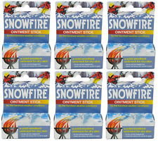 6x Snowfire Ointment Stick 18g A Solid Emollient for dry skin