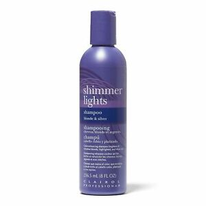 Clairol Shimmer Lights Shampoo Conditioner for Blonde & Silver 8oz