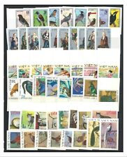 VIETNAM 6 Complete Sets of Imperf Stamps (50 Values) High Cat. Value Mint MUH #4
