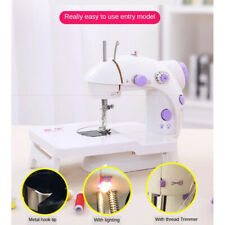 Sewing Machine with Extension Table Tailor Crafting Mending Machine w/ Light