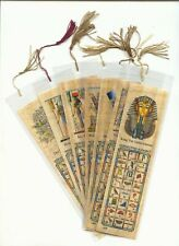 New Assorted Egyptian Papyrus Bookmarks By Kemet Art