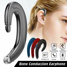 Waterproof Bluetooth 5.0 Headphone Wireless Earphone Bone Conduction Headset Mi