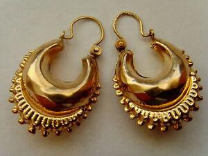 9ct Gold Victorian Style Earrings THIS WEEKS SCRAP PRICE START BARGAIN BUY