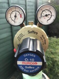 Murex Oxygen regulator.