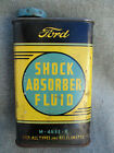 OLD+VINTAGE+1950s+FORD+SHOCK+ABSORBER+FLUID+TIN+1+PINT+CAN+FORD+MOTOR+COMPANY
