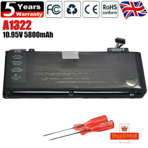 OEM Battery A1322 for MacBook Pro 13'' A1278 Mid 2009 Mid 2010 2011 2012 Genuine