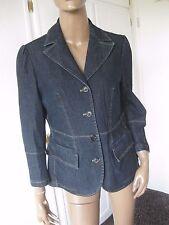 Orwell bombastische Jeans-Jacke 40  blau