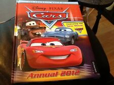 Walt Disney PIXAR . CARS  Padded Hardback AnnuaL MINT COLLECTORS ITEM