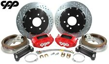 "Ford 9"" Rear Axle 5 x 4.5, 4.75 4 Piston 13"" Big Brake HiPo Disc Conversion Kit"