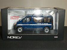 Norev 518061 Renault Trafic Gendarmería Policía francesa Modelo Diecast Azul Van