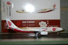 "Phoenix 1:400 Air China Airbus A330-200 B-6075 ""Red Peony"" (PH4CCA1094) Die-Cast"