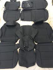 2014 2015 Chevy Silverado Crew Cab Katzkin Black Leather Interior Kit
